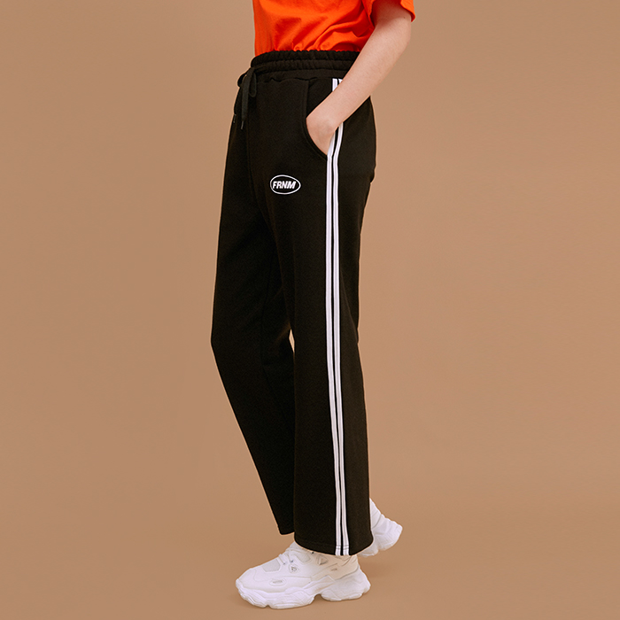 ROPE TAPING WIDE LONG PANTS