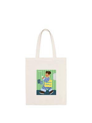 [프랑켄모노]smallhand_ 쇼핑가는길 에코백