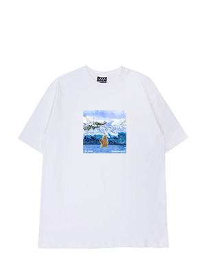 [프랑켄모노]97_mini8 북극곰 반팔티