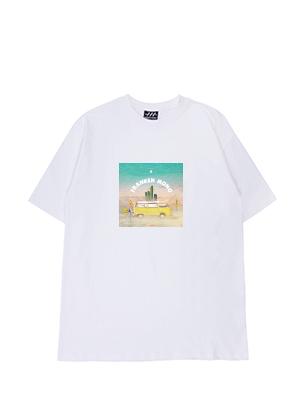 [프랑켄모노]nosunstar 바위조심 반팔티