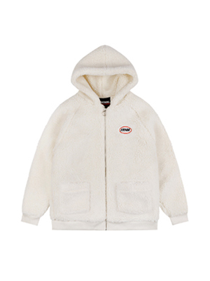 (1) FLEECE HOOD ZIP-UP
