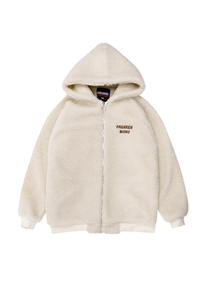 (2) POOH FLEECE HOOD ZIP-UP