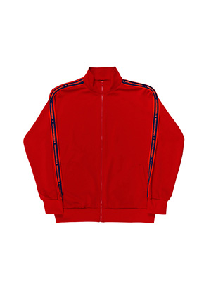 MEGA TAPING JERSEY ZIP-UP