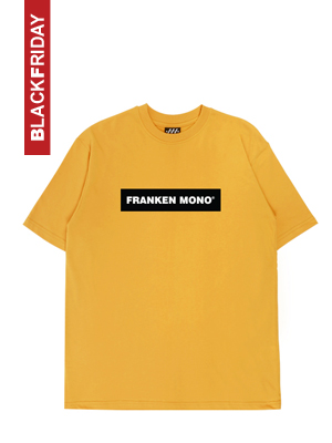 [BLACKDAY]F-BOX LOGO T-SHIRT