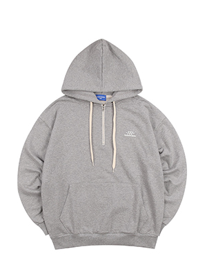 AWARD HALF ZIP-UP HOOD